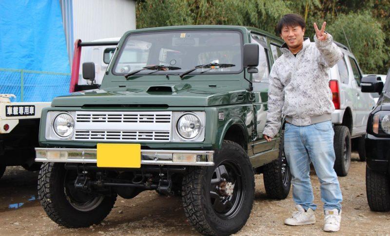 愛知県江南市のH様にJA11を納車